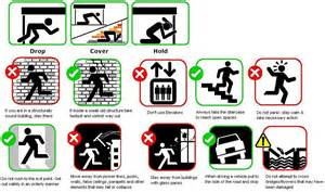 quake safety tips