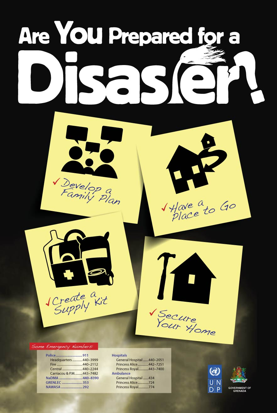 Public Health Disasters Information from CDC:
