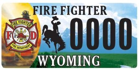 Firefighter Plate Example